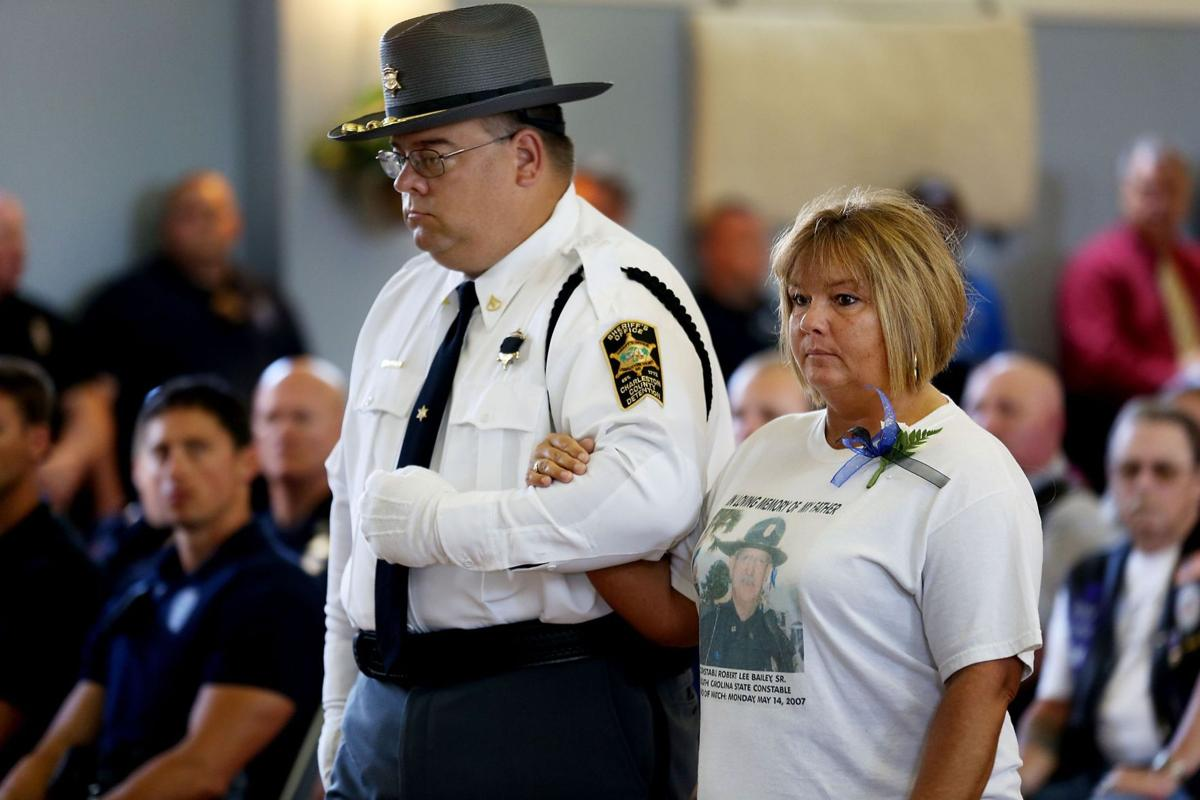 Ceremony recognizes Lowcountry's fallen officers