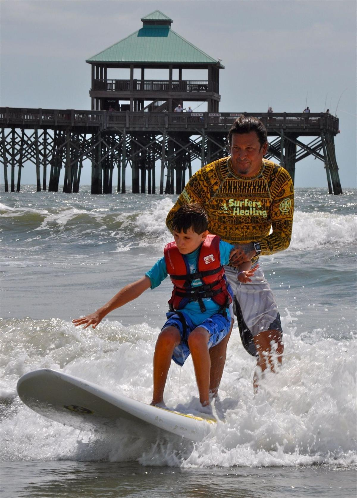 Seventh Surfers Healing camp comes to Folly on Wednesday