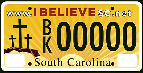AG: New 'I Believe' plates legal