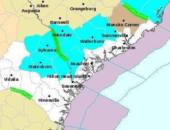 'Winter day' headed to Lowcountry on Monday, freezing temps expected into Tuesday