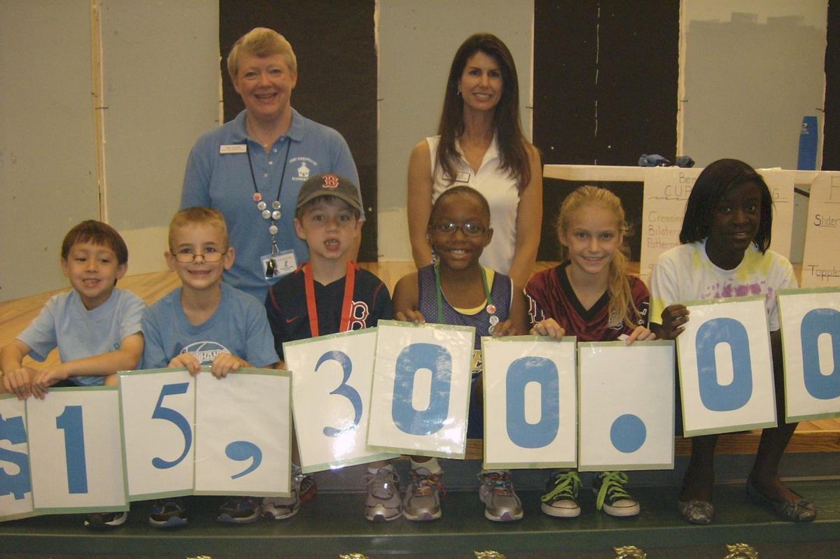 Students raise $15,300 for charity