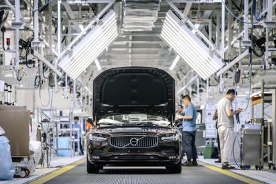 Volvo Daqing plant