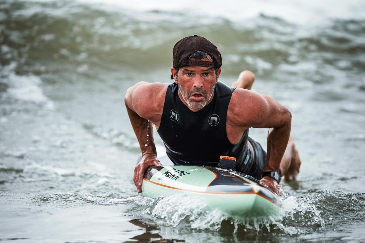 No paddle? No problem. Local returns to Hawaii for 32-mile race