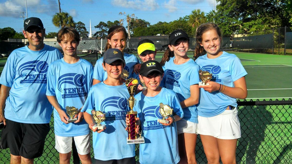 Daniel Island School team wins tri-county tennis title