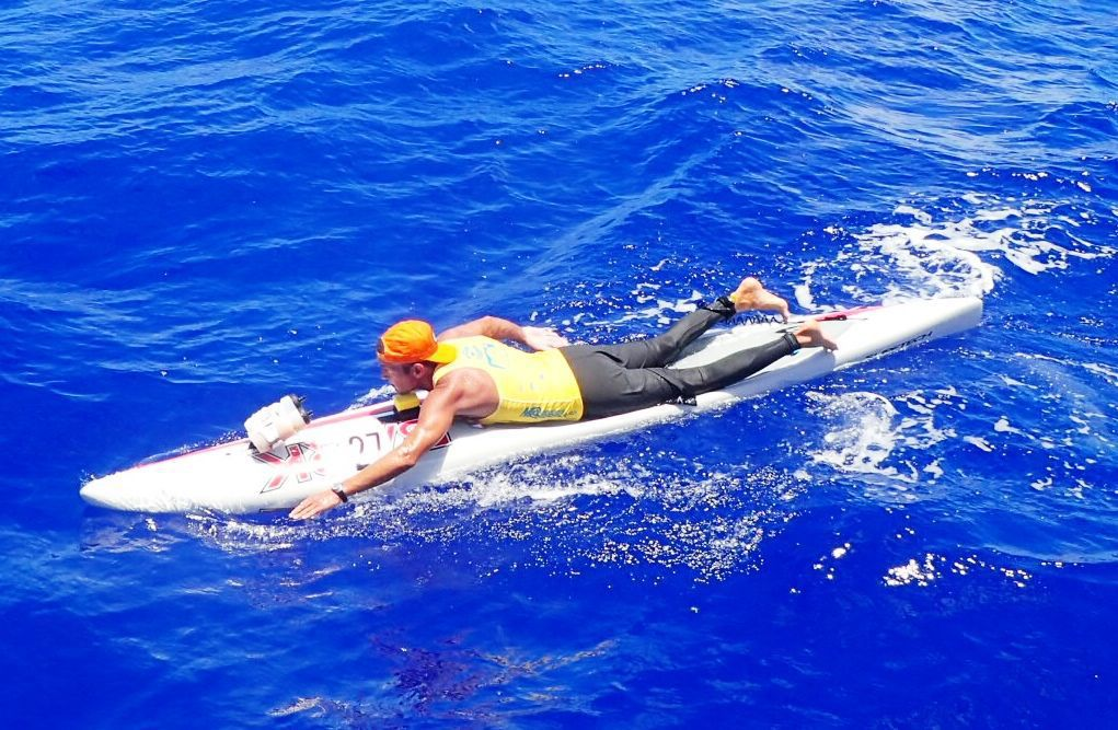 Local man finishes paddleboard race of 32 miles in Hawaii