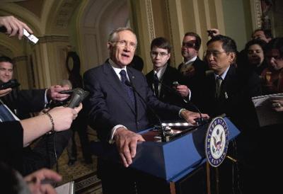 Senate to send Obama a stopgap GOP spending bill