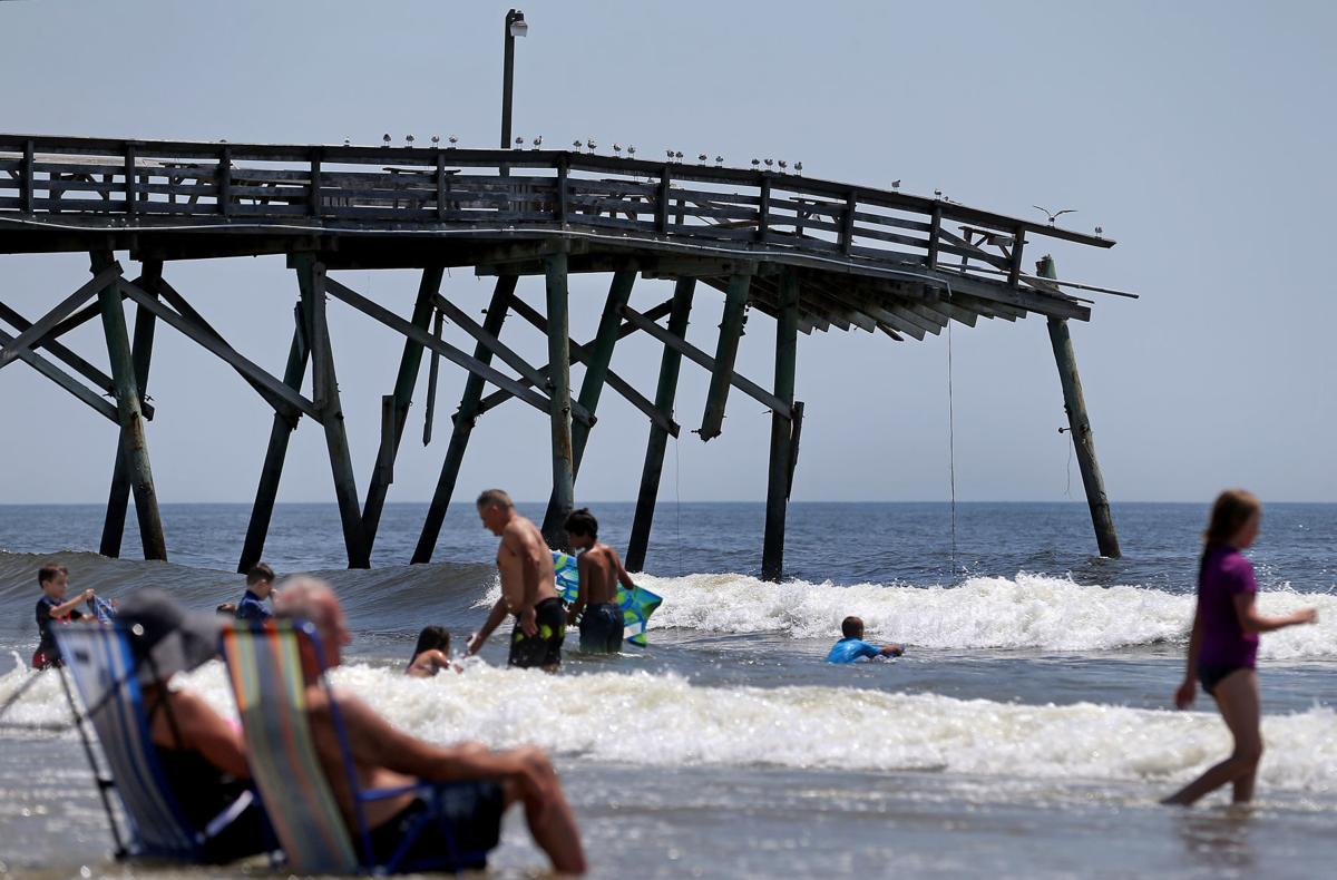Small Strand Beach Town Struggles