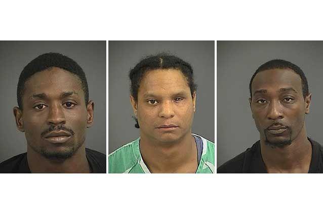 Trio accused in Mt. Pleasant holdup