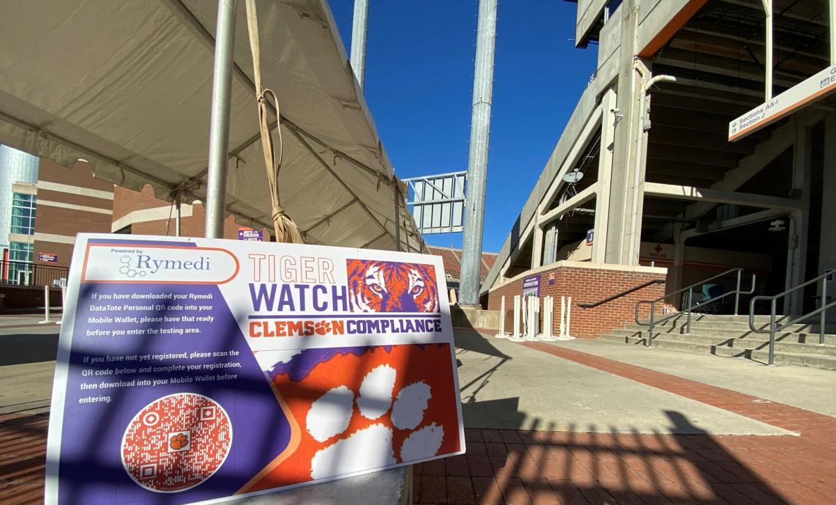 Clemson University offers coronavirus tests free to the public at Memorial Stadium