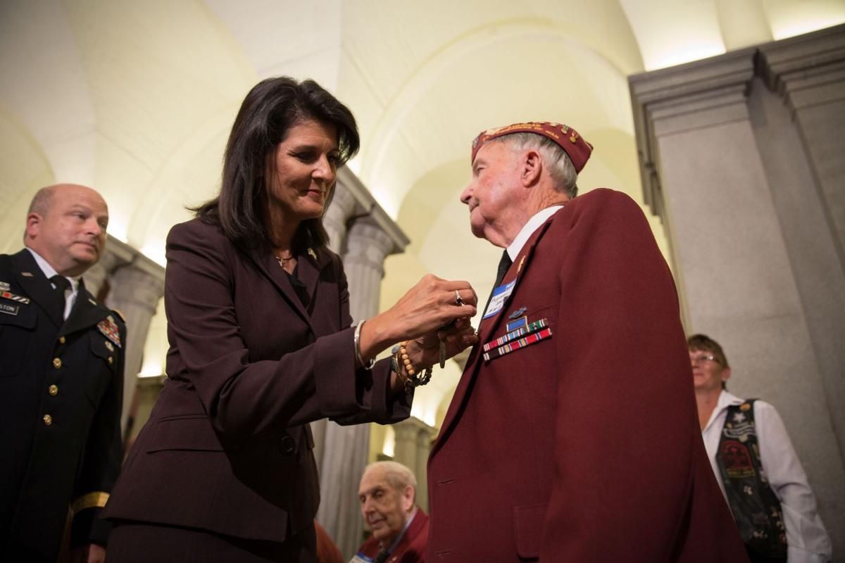 Former WWII prisoners of war honored with state medals