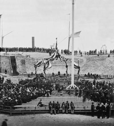 Tragedy overshadowed Fort Sumter milestone