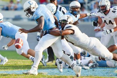 Charleston Southern's Calvin Bryant making most of final season