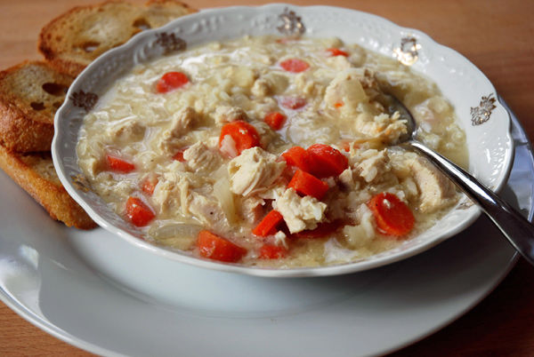 Desperation dinners: Chicken soup for allergic soul