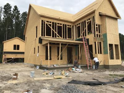 Nexton home under construction