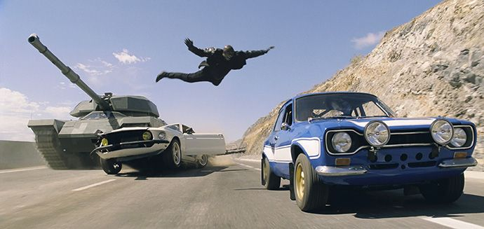 'Fast & Furious 6' Latest sequel offers dumb fun in the summertime