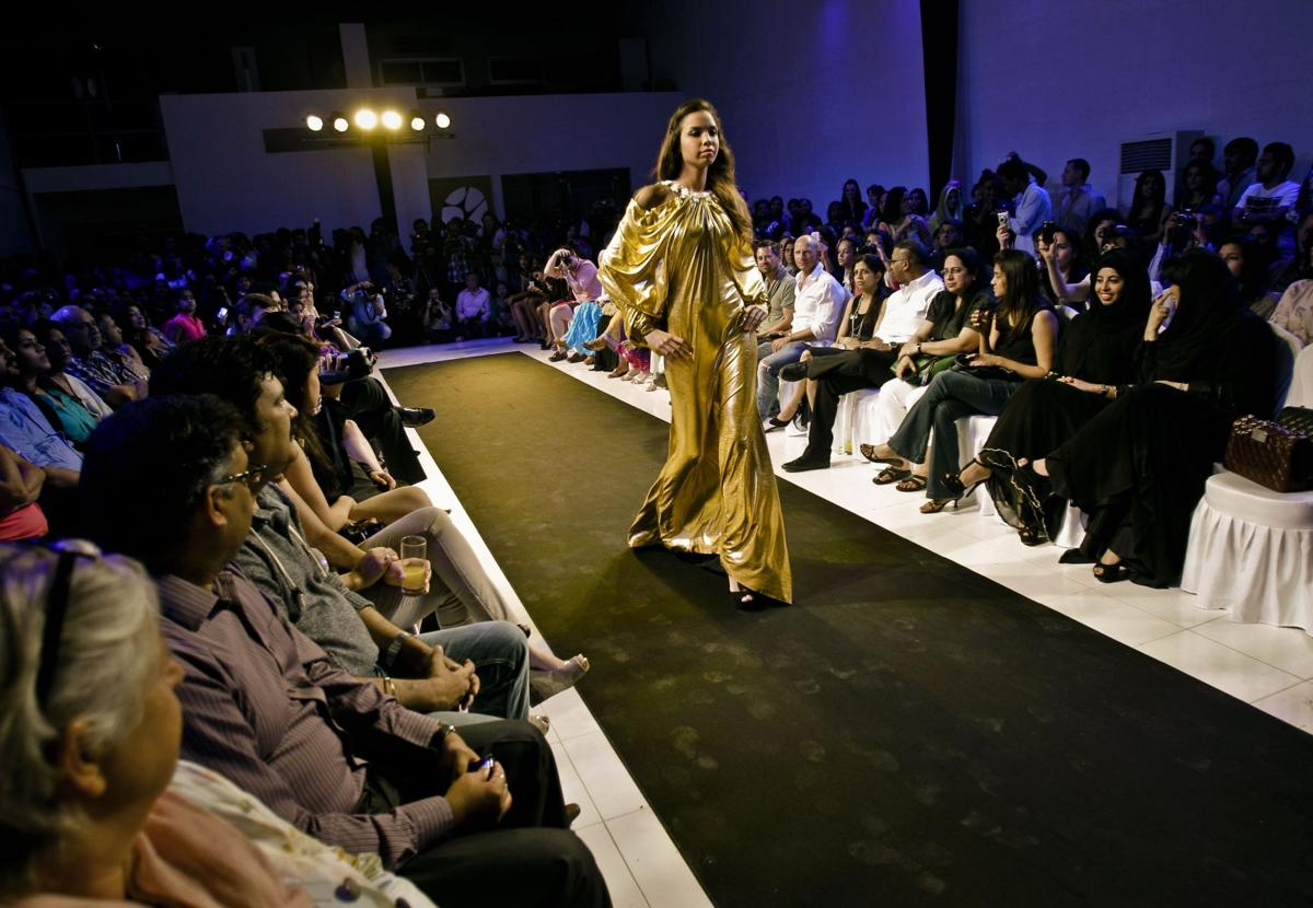 Designers add bling to Gulf Arab garment