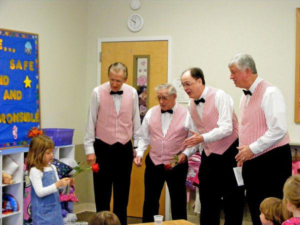 Chorus quartets to deliver annual singing valentines