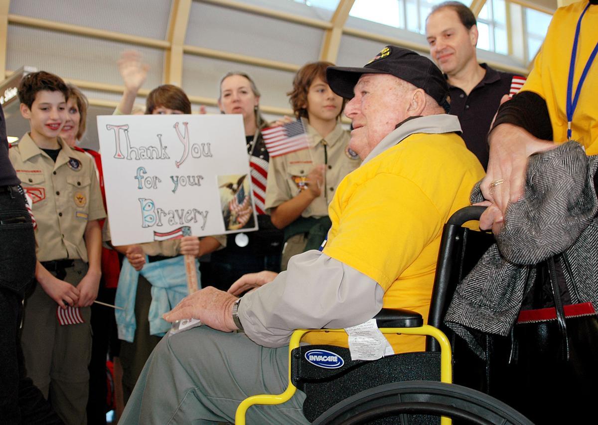 Charleston's final Honor Flight of WWII veterans to Washington is Sept. 12