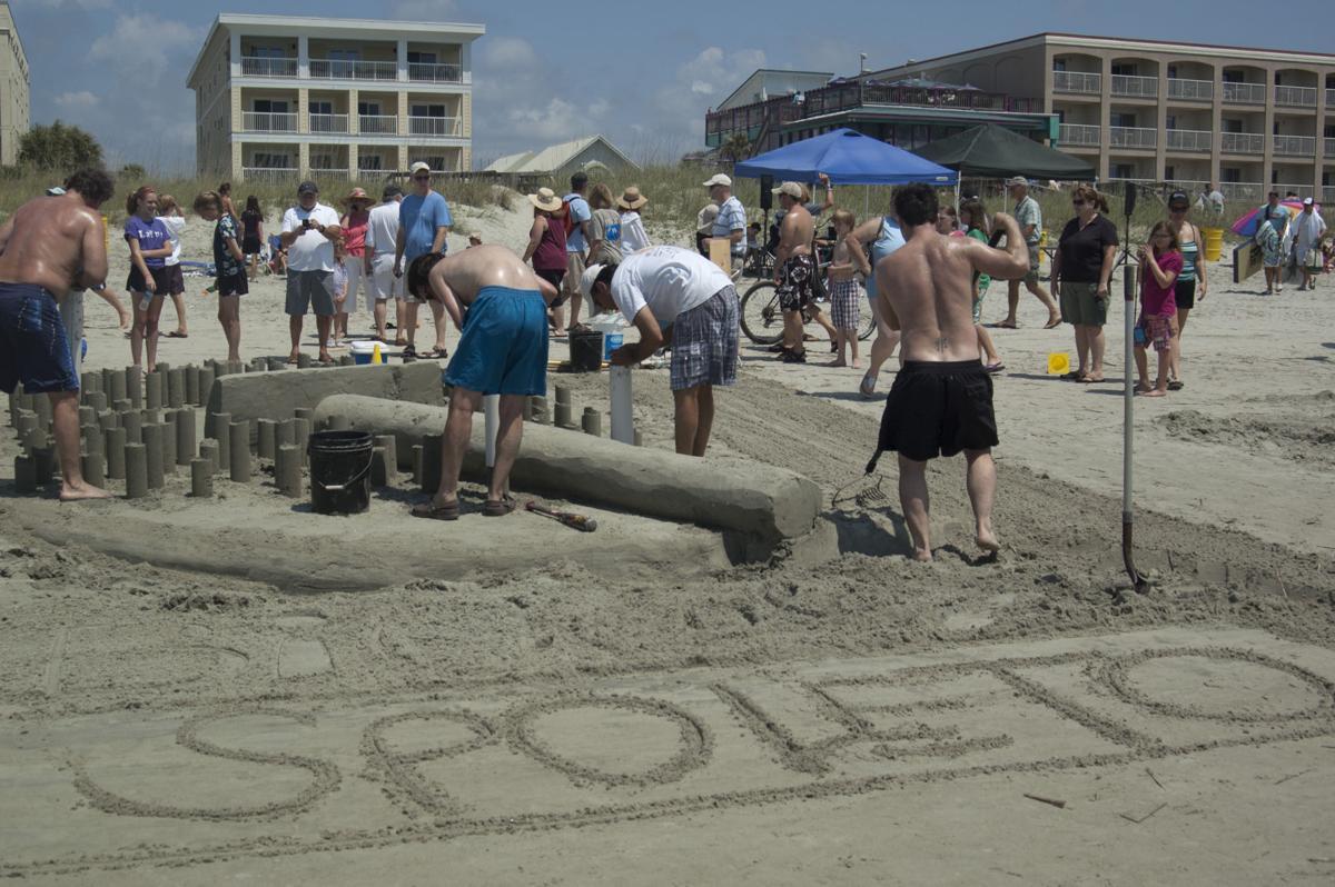 Spoleto Sand Sculpting Competition