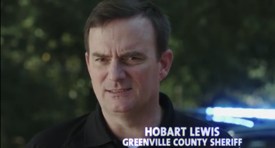 Greenville County Sheriff Hobart Lewis