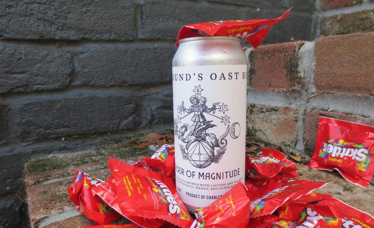 Edmund's Oast Order of Magnitude with Skittles.