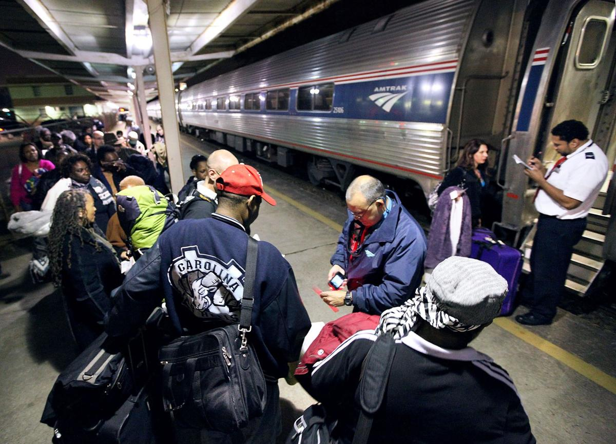 More and more travelers choose to hop on a train