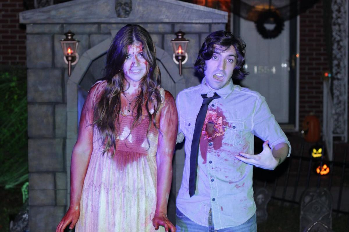 Anthony and Emilee dressed up