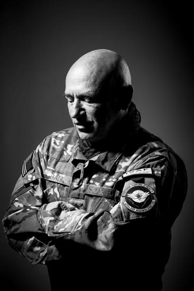 Shifting her focus Ex-combat photographer finds new calling in veteran portraits