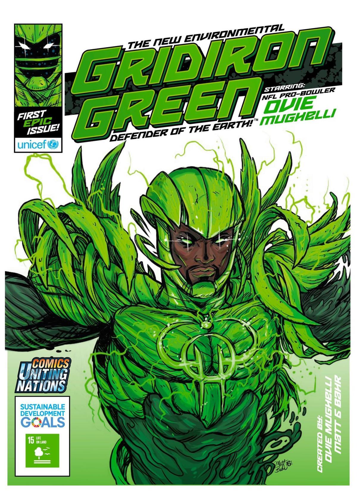 Gridiron Green Comic Book