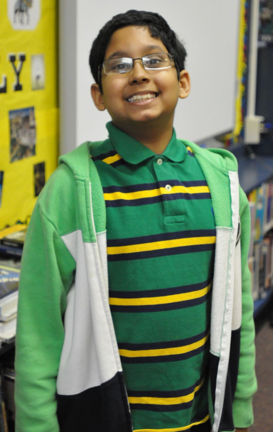 Rollings student to compete in National Spelling Bee prelims on Wednesday
