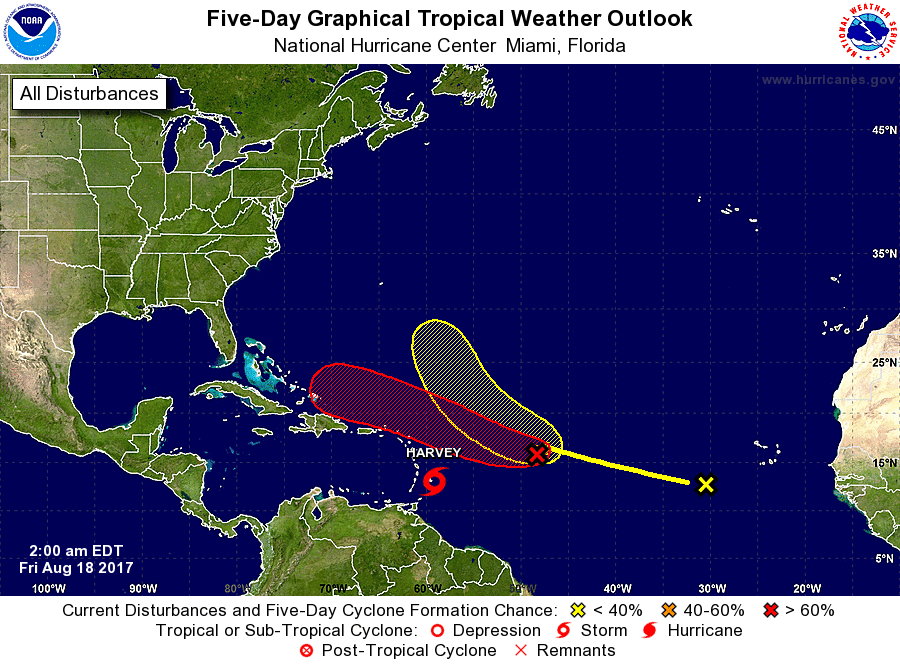 Tropical Depression Could Form Within The Next 48 Hours