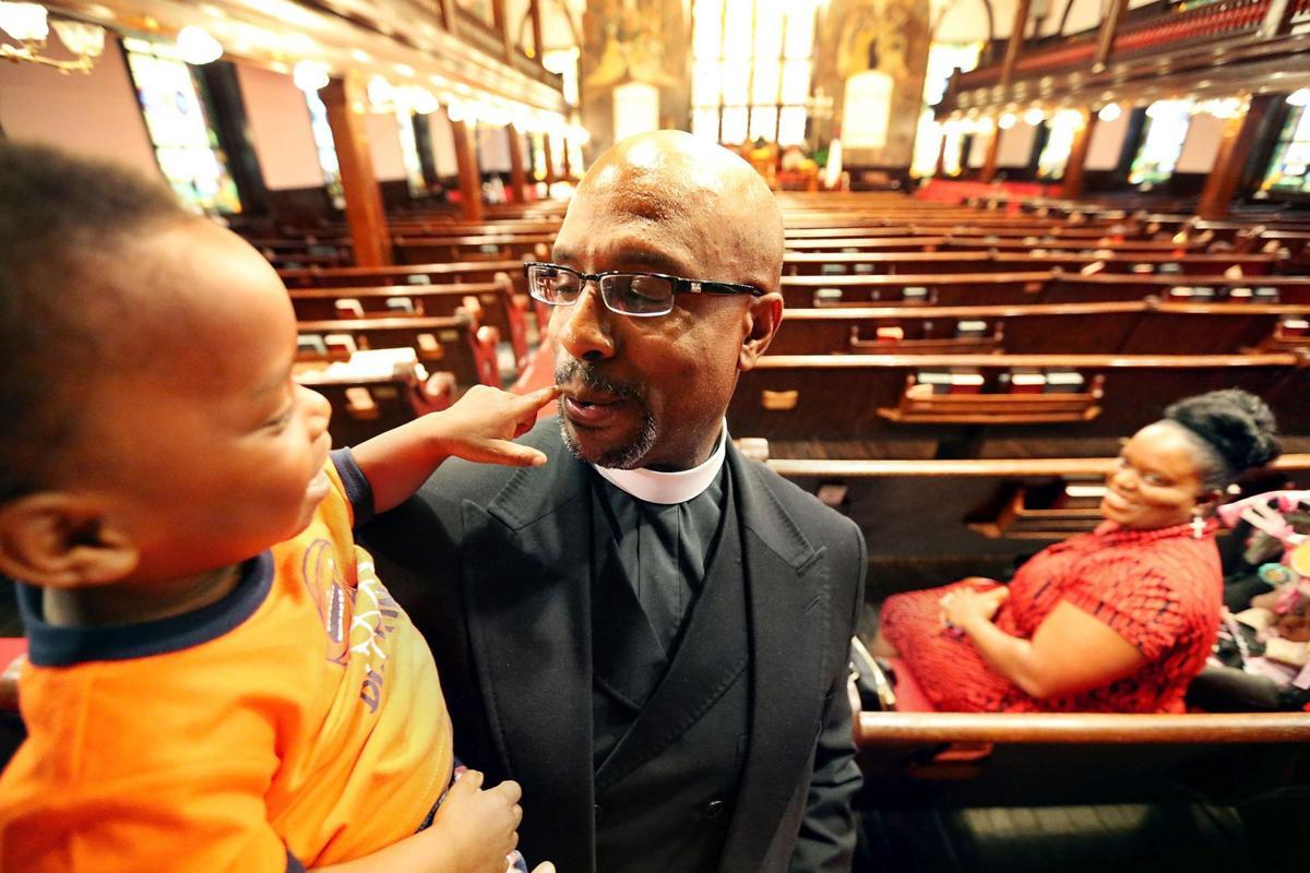 New Emanuel AME Church pastor stresses servanthood