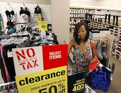 Sales-tax holiday brings in business