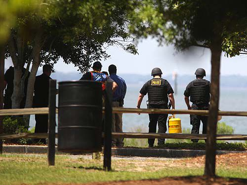 2 suspect packages defused