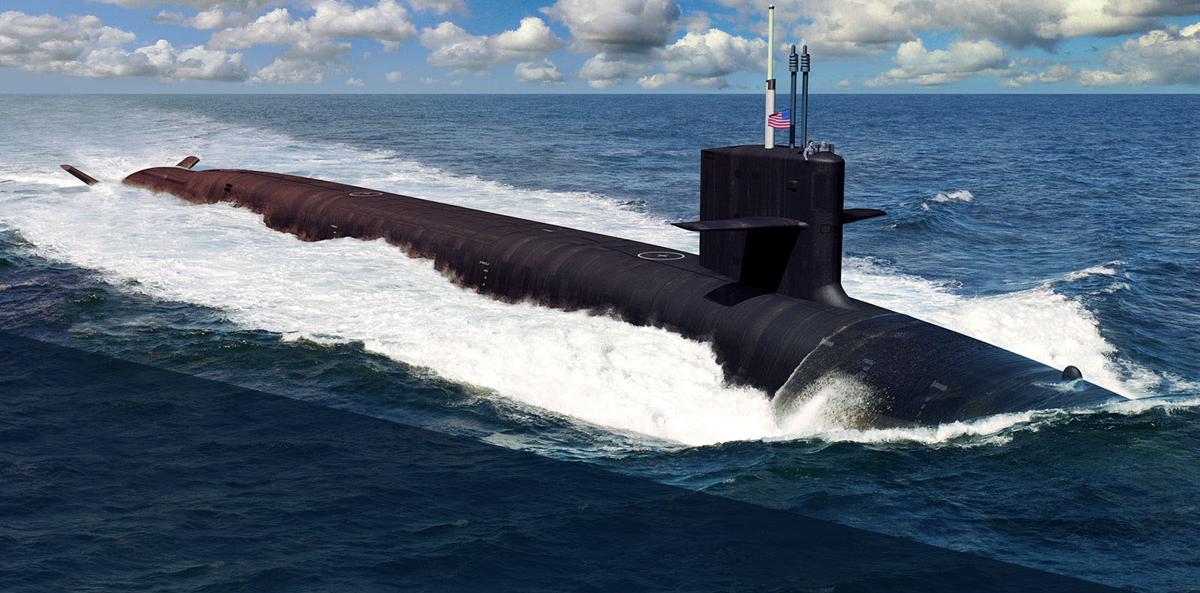 Columbia class submarine