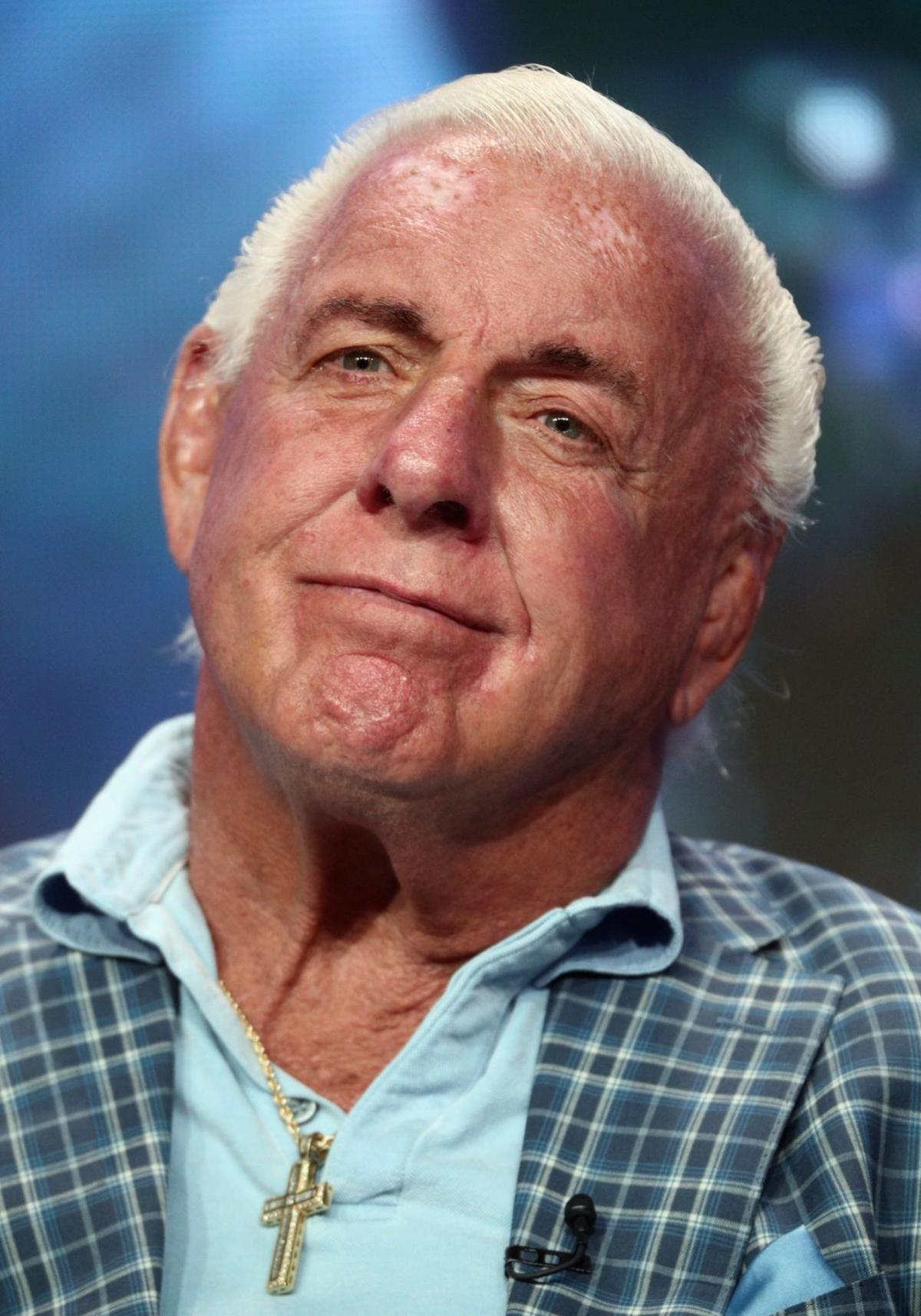 praying for a legend ric flair fights for his life wrestling
