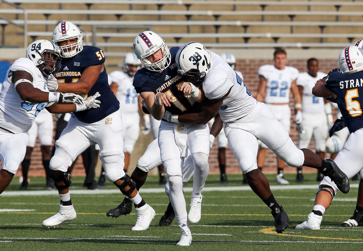 COLLEGE FOOTBALL: OCT 21 The Citadel at Chattanooga Noah Dawkins