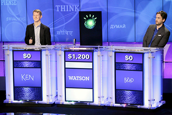 Computer takes on 'Jeopardy'