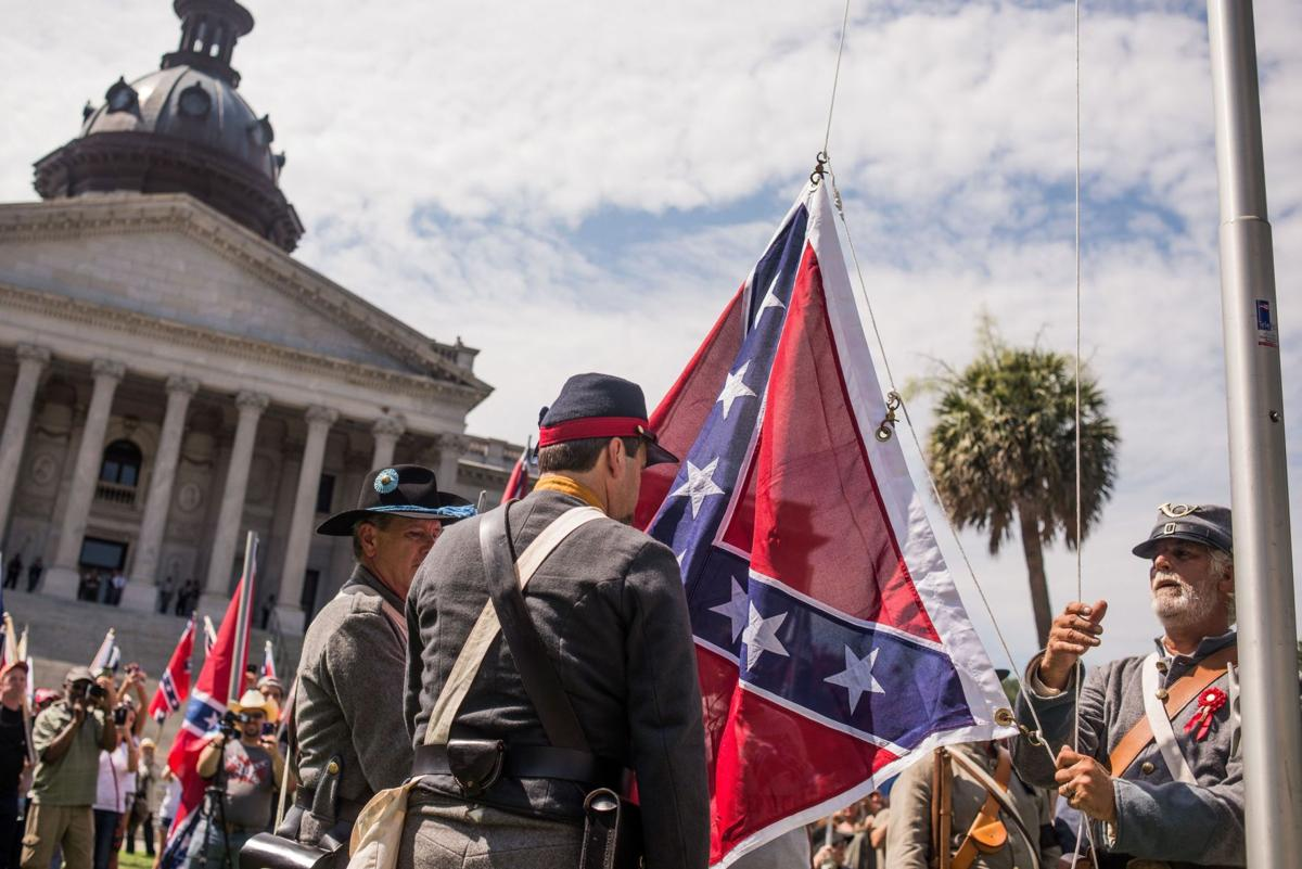 Confederate flag defenders complain to College of Charleston