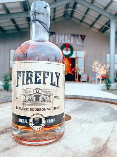 Firefly Distillery Barrel Proof Bourbon Image .JPG
