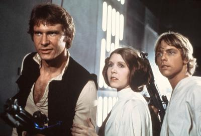 Lucas says 'Star Wars' big 3 back for new film