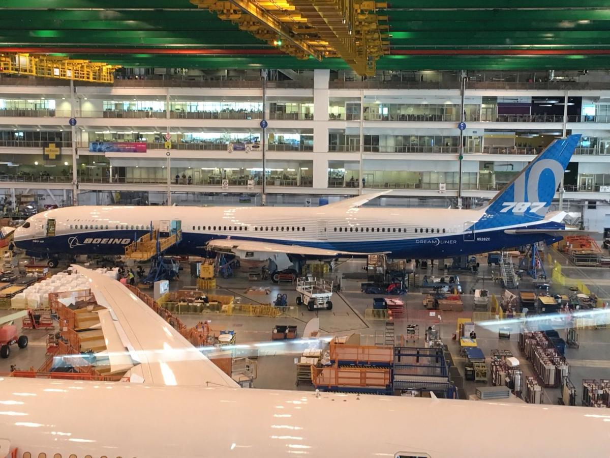 787-10 Dreamliner in assembly at North charleston (copy) (copy) (copy)
