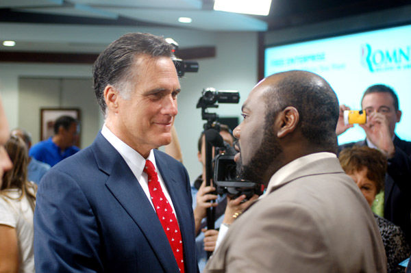 Romney stops in North Charleston: Candidate brings Pawlenty, who will lead his campaign