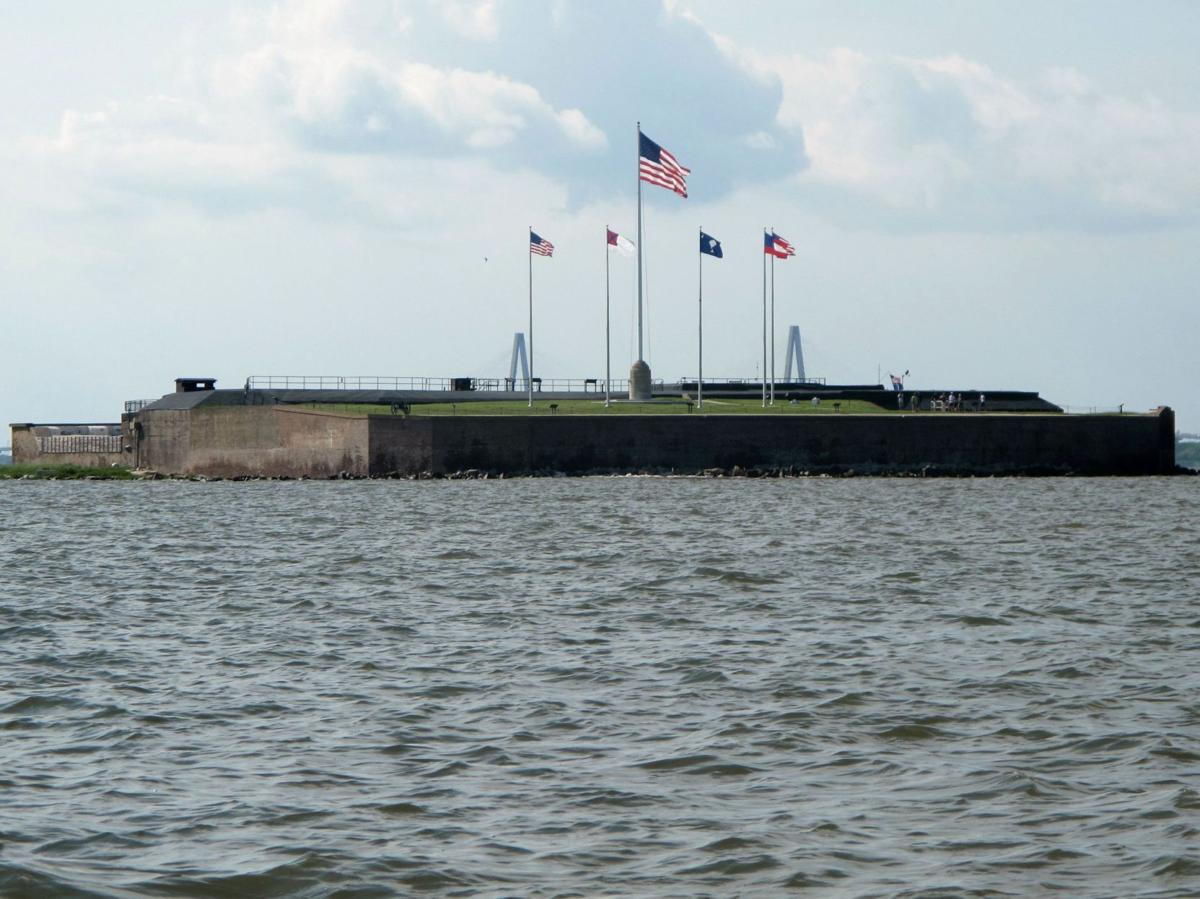 Large cannon at Fort Sumter getting new mount