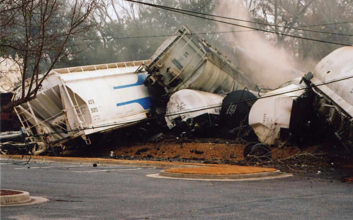 A decade later, Graniteville still recovering from deadly train wreck
