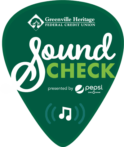 Greenville Sound Check logo