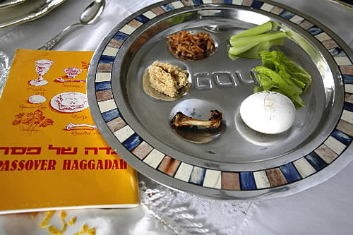 A family's celebration of Passover and Seder