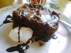 Slice of cake from Jestine's Kitchen
