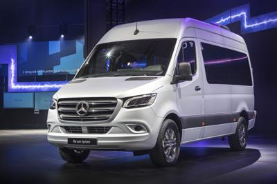 Mercedes Benz Vans new Sprinter