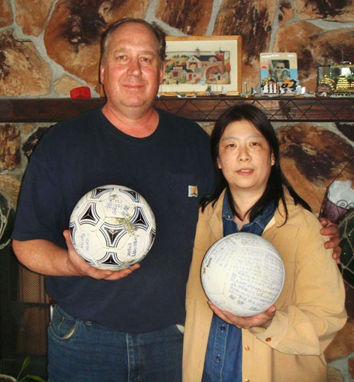 Japanese teen's soccer ball drifts to Alaska